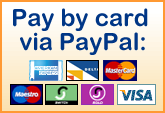 Buy now using card via PayPal